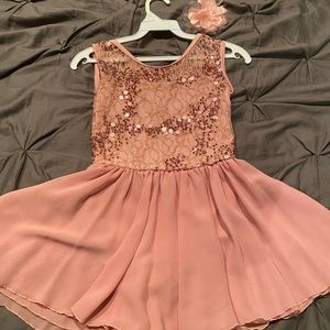 Rose Pink Weissman Dance Costume